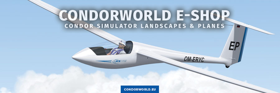 CondorWorld E-shop: Condor Simulator Landscapes & Planes