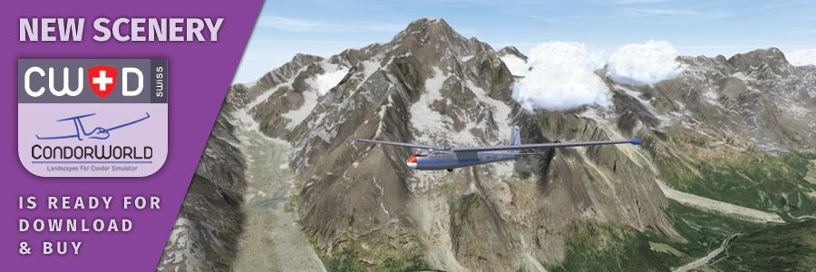 CondorWorld E-shop: Condor Simulator Landscapes & Planes
