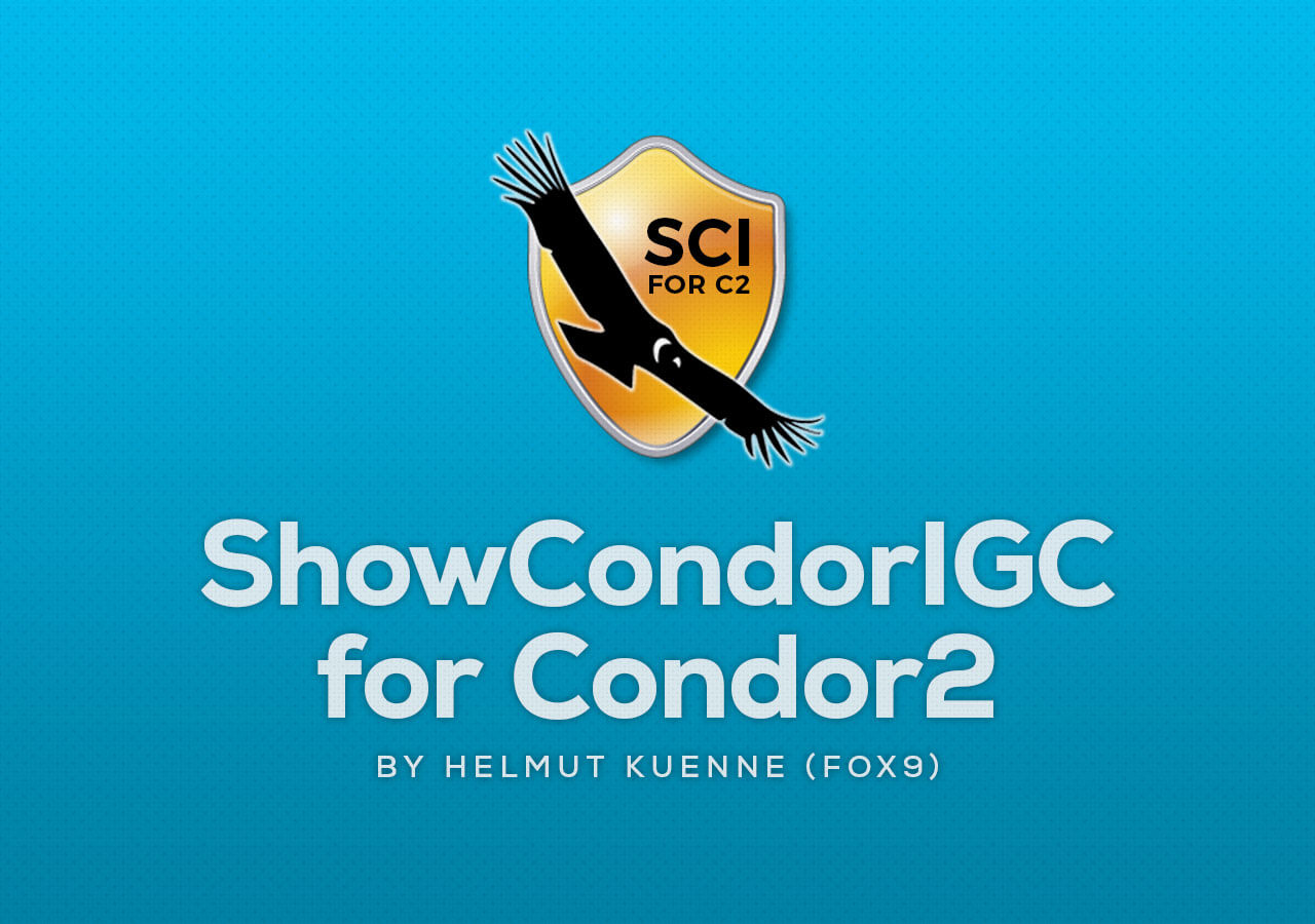 ShowCondorIGC for Condor2